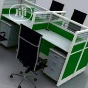 Strong Glass Partition Office Workstation Table[714] | Furniture for sale in Lagos State, Ikeja