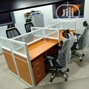 Classic Glass Partition Office Workstation Table[714] | Furniture for sale in Lagos State, Ikeja