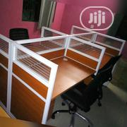 Classic Glass Partition Office Workstation Table[715] | Furniture for sale in Lagos State, Ikeja