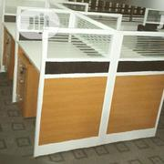 Classic Glass Partition Office Workstation Table[717] | Furniture for sale in Lagos State, Ikeja