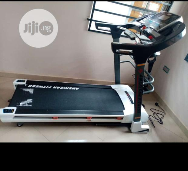 3hp American Fitness Commercial/Home Treadmill With Massager