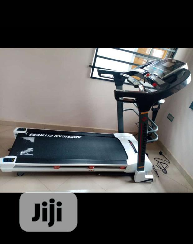 American Fitness Luxurious 3hp Treadmill With Massager Inclined Mp3