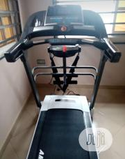 American Fitness Deluxe 3hp Treadmill With Massager Inclined Mp3 | Sports Equipment for sale in Lagos State, Ikeja
