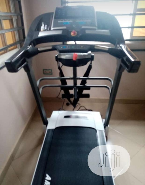 American Fitness Deluxe 3hp Treadmill With Massager Inclined Mp3