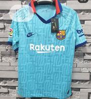Barcelona 19_20 Authentic Jersey | Clothing for sale in Lagos State, Surulere