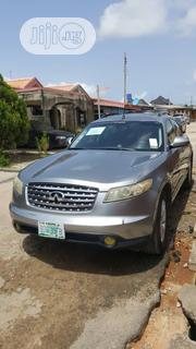 Infiniti FX35 2006 Base 4x4 (3.5L 6cyl 5A) Silver | Cars for sale in Lagos State, Lagos Mainland