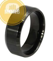 New Stainless Steel Ring Titanium Silver Black Gold 10   Jewelry for sale in Lagos State, Amuwo-Odofin