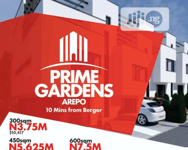 Archive: 600 Sqm Piece of Dry Land at Arepo ( Prime Gardens)