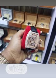Franck Muller Ice Box Leather Wristwatch | Watches for sale in Lagos State, Lagos Island