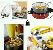 Doughnut And Puff-puff Maker Plantain Cutter And Deep Fryer | Restaurant & Catering Equipment for sale in Lagos State, Lagos Island