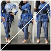 Trouser And Top With Belt   Clothing Accessories for sale in Lagos State, Ikoyi