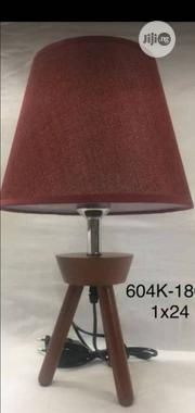 Uniqu Bed Side Lamp With Wooden Base | Furniture for sale in Lagos State, Victoria Island