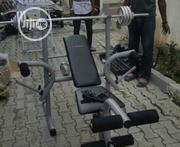 Weight Lifting Bench And 50kg Weight | Sports Equipment for sale in Abuja (FCT) State, Central Business District