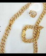 Cuba Gold Chain, Bracelet and Ring | Jewelry for sale in Lagos State, Surulere