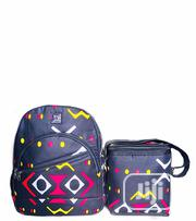 Ankara Backpack With Lunch Bag | Bags for sale in Lagos State, Ikeja