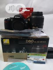 Nikon D60 Camera With Lens | Accessories & Supplies for Electronics for sale in Anambra State, Onitsha
