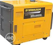 Firman Diesel Generator 8.4KVA 100% COPPER COIL SDG12000SE | Electrical Equipment for sale in Abuja (FCT) State, Gwarinpa