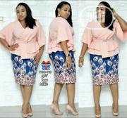 High Quality Skirt and Blouse With Belt for Ladies | Clothing for sale in Lagos State, Lagos Mainland
