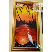 """Great Egret On A Sunset 15"""" By 31"""" Oil Painting   Building & Trades Services for sale in Abuja (FCT) State, Gwarinpa"""