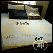 Versace Gold Bedsheet With 4 Pillowcases | Home Accessories for sale in Abuja (FCT) State, Kubwa