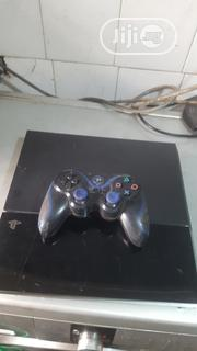 Playstation (PS4) & Wireless Pad (London Used) | Video Game Consoles for sale in Lagos State, Ikeja