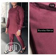 Cashmere Material a Mixture of Burgundy and Raspberry | Clothing for sale in Lagos State, Yaba