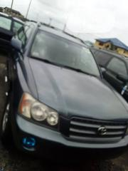 Toyota Highlander 2003 Black | Cars for sale in Lagos State, Apapa