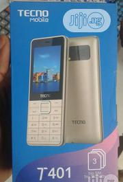 New Tecno T401 512 MB Black | Mobile Phones for sale in Lagos State, Ikeja