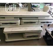 Tv Stand With Centre Table Both Marble | Furniture for sale in Lagos State, Ojo