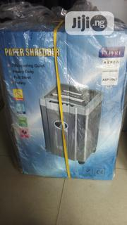 Aspeg Paper Shredder Asp 1000 | Stationery for sale in Abuja (FCT) State, Wuse 2