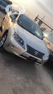 Lexus RX 2015 350 FWD Gold | Cars for sale in Lagos State, Ojodu
