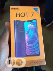 New Infinix Hot 7 32 GB Black | Mobile Phones for sale in Lagos State