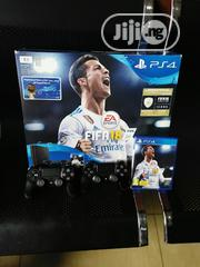 Open Box 1terabyte Playstation 4 With 2pads And Fifa Soccer | Video Game Consoles for sale in Lagos State, Ikeja