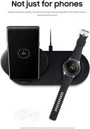 Samsung Wireless Charger Duo Fast Charge | Accessories for Mobile Phones & Tablets for sale in Lagos State, Ikeja