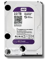 WD Purple 2TB Surveillance Hard Disk Drive | Computer Hardware for sale in Lagos State, Ikeja