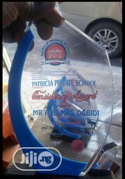 Acrylic Plaque Award With Branding | Arts & Crafts for sale in Lagos State, Ikeja