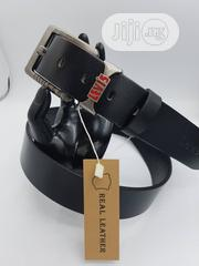 Levies Men Leather Belt Available as Seen Order Yours Now | Clothing Accessories for sale in Lagos State, Lagos Island