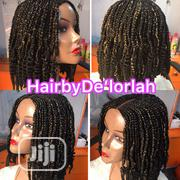 Gold and Black Braided Wig | Hair Beauty for sale in Lagos State, Ikeja