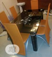 Quality Glass Dining Table by 6 | Furniture for sale in Delta State, Warri South-West
