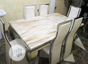 Quality Marble Dining Table by 6 | Furniture for sale in Rivers State, Port-Harcourt