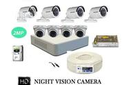 HIKVISION (2MP) 8 CCTV Cameras 8ch.Full HD DVR (All Accessories) | Security & Surveillance for sale in Lagos State, Ikeja
