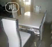 Quality Marble Dining Table by 6   Furniture for sale in Abuja (FCT) State, Asokoro