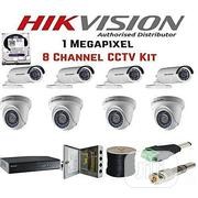Hikvision 8 Kit CCTV Camera + Free HDMI Cable | Accessories & Supplies for Electronics for sale in Lagos State, Ikeja