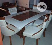 A Brand New Turkey Six Seater Marble Dining Table   Furniture for sale in Lagos State, Victoria Island