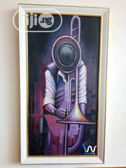 "Trombone 20"" By 38"" Painting 