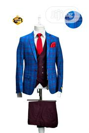 3 Piece Plain and Patterned Suit | Clothing for sale in Rivers State, Port-Harcourt