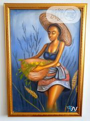 "Zahra 24"" By 36"" Oil Painting 