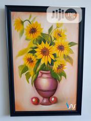 """Sun Flower 24"""" by 36"""" Oil Painting 