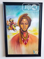 """Queen Amina 24"""" By 36"""" Oil Painting 