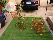 Decorative Metal Bicycle With F | Garden for sale in Jigawa State, Yankwashi